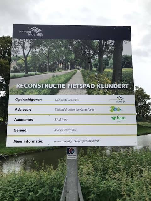 Fietspad Klundert